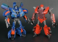 Transformers News: New Toy Galleries: Transformers Prime Deluxes Knock Out and Hot Shot