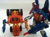 Transformers News: First Look: Botcon 2012 Metalhawk In-hand