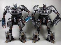 Transformers News: Human Alliance Jazz: TakaraTomy vs Hasbro
