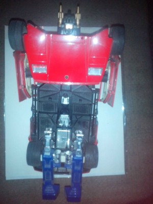 Transformers News: Rare One of a Kind Takara Generation One Lamborghini Prototype with COA