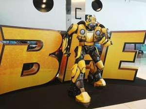 Transformers Bumblebee Movie Promotion at CineEurope 2018, Plus Plot Rumours #BumblebeeMovie