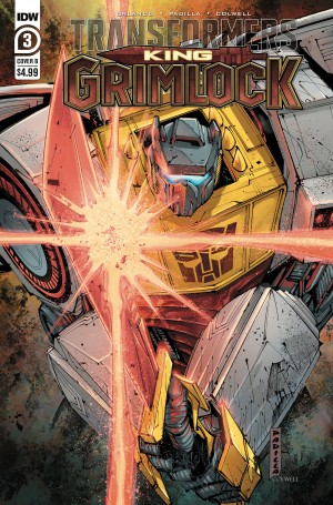 IDW Transformers King Grimlock #3 Review