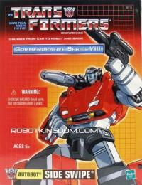 ROBOTKINGDOM .COM Newsletter #1167 - Hasbro Transformers G1 Reissue Sideswipe