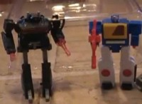 Transformers News: Video Review of WST Twincast and Grey Shockwave