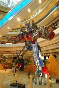 Transformers News: Hong Kong Grand Century Place TF event and giant Optimus Prime statue