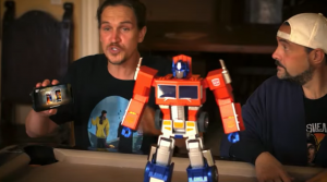 You Can Own an Official Auto-Converting Programmable Optimus Prime for $699