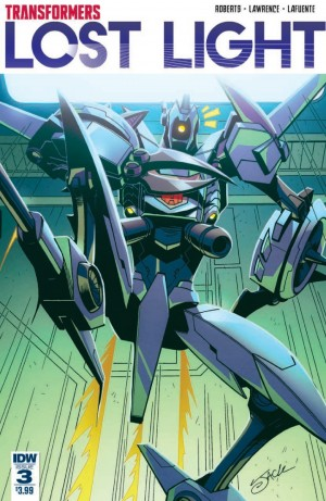 Full Preview of IDW Transformers: Lost Light #3
