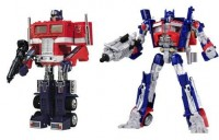 Official Product Images of Transformers Chronicle Series - Optimus Prime and Megatron