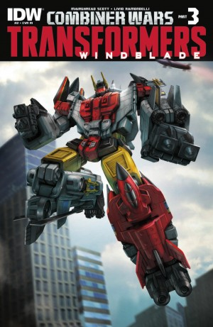 Transformers News: IDW Transformers: Combiner Wars - Windblade #2 Review