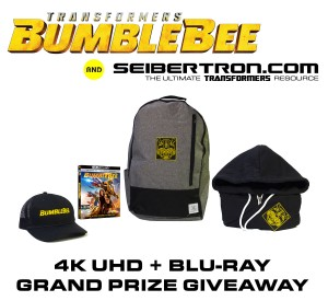 Bumblebee 4K UHD + Blu-Ray Grand Prize Contest from Paramount Home Media and Seibertron.com