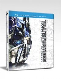 Future Shop Blu-Ray Revenge of the Fallen Steelbook Images.