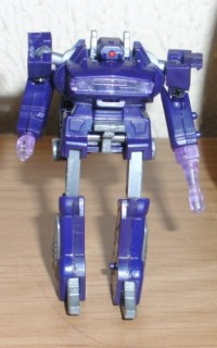 Transformers News: WST Shockwave out of package pictures