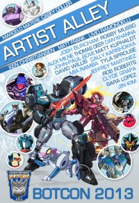 Transformers News: BotCon 2013 Artist Alley Update: Marcelo Matere and Over 20 Other Artist Confirmed!