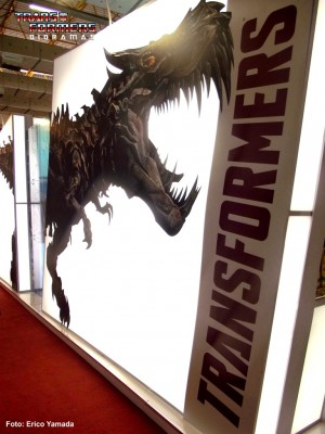 Transformers News: Transformers: Age of Extinction Display Art and Figures from Brazil Toy Fair