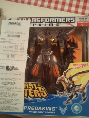 Transformers Prime Beast Hunters Simplified Voyagers Sighted at US Retail