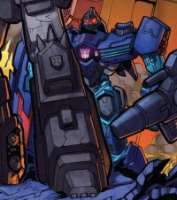 Transformers News: Transformers Generations Deluxe IDW Style Megatron to Receive G2 Dreadwing Repaint?