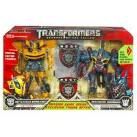 Transformers News: Exclusive Battlefield Bumblebee vs. Infiltration Soundwave and other N.E.S.T. value packs at HTS