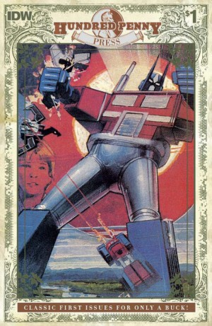 Transformers News: IDW Transformers #1 (1984) Hundred Penny Press Preview