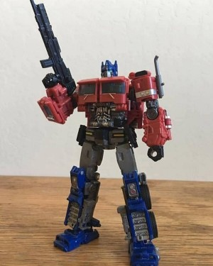 Transformers News: New In Hand Image of Studio Series 38 Bumblebee Movie Optimus Prime