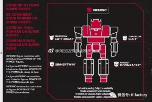 Transformers News: Instruction Images for Transformers Power of the Primes Combiners: Starscream, Elita-1, Terrorcons