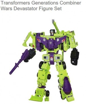 Transformers News: Devastator Now Available At Target.com