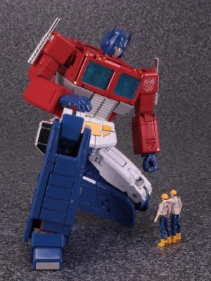 Masterpiece MP-44 Optimus Prime 3.0 English Sound Clips Likely Included