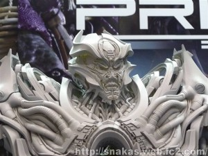 Wonderfest 2015 - Prime 1 Studio Products: AoE Galvatron, Drift, Optimus, DOTM Bumblebee and More