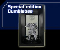DOTM: Lucky Draw Silver Bumblebee giveaway and Toy line sale start in Asia