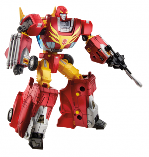 Transformers News: Official Images of Rise of Rodimus Prime Platinum Edition Set