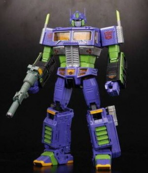 Transformers News: TFsource Pre-Orders for Takara Tomy Transformer / Evangelion Masterpiece Optimus Prime EVA Mode