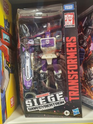 Transformers News: Transformers War for Cybertron: Siege Voyager Class Apeface Found in UK