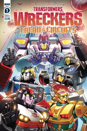 Five Page Preview of Transformers: Wreckers - Tread & Circuits #1