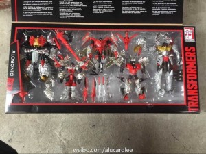 Transformers News: Transformers Platinum Edition Dinobots Set Revealed to be Redecos of Age of Extinction Dinobots