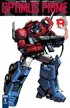Interview with John Barber and Kei Zama on IDW Optimus Prime Series