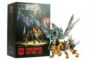 New Images of Flame Toys Kuro Kara Kuri Victory Leo and Additional Victory Saber Images