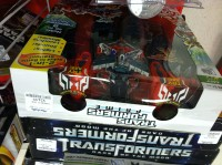 Transformers News: Transformers Prime Cyberverse Optimus Maximus Spotted at Marshalls