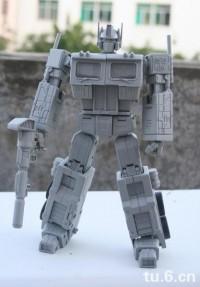 Transformers News: Miniature MP Optimus Prime update with next mini MP figure!