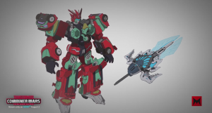 Transformers News: Machinima Transformers Combiner Wars - Eric Calderon on Victorion and Character Design