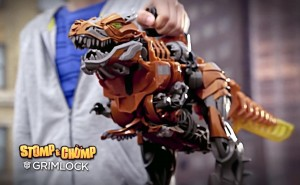 Transformers News: Transformers: Age of Extinction Stomp and Chomp Grimlock Commercial