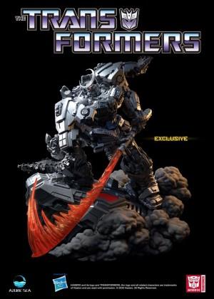 AzureSea Studio Debuts Transformers Bludgeon Statue