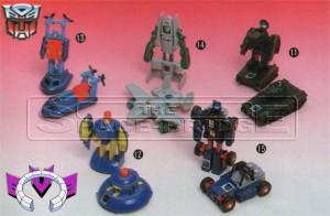 Transformers News: Rare Prototype Images: G1 Swoop, Black Energon Megatron, Takara Tomy G1 Minibot Redecos