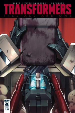 Transformers News: Variant Cover for IDW Transformers: Till All Are One #6