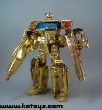 Transformers News: KO of Lucky Draw Gold Henkei Convoy has been produced