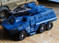 Transformers News: Toy Images of Scout Class Breacher