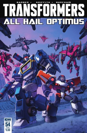 Transformers News: IDW The Transformers #54 Full Preview