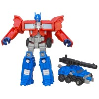 Transformers News: Video Review: Transformers Generations Legends Class Optimus Prime with Roller