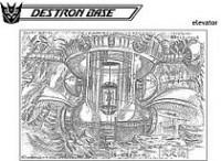The Ark Addendum - The Destron Base of Masterforce (part 3)