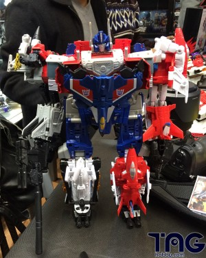 Transformers News: Transformers Generations Combiner Wars - Hong Kong Store Launch Event: Legends and Voyagers Combine