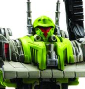 Official Images of Power Core Combiners Grimstone with Dinobots and Steamhammer with Constructicons