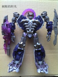 Transformers News: Transformers DOTM Voyager Shockwave Repaint  #2 /    Updated with Robot Mode Image